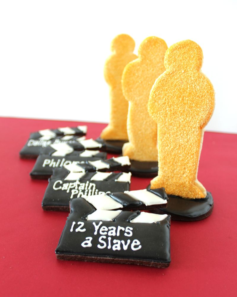 Academy Awards Decorated Sugar Cookies | The Crafting Foodie