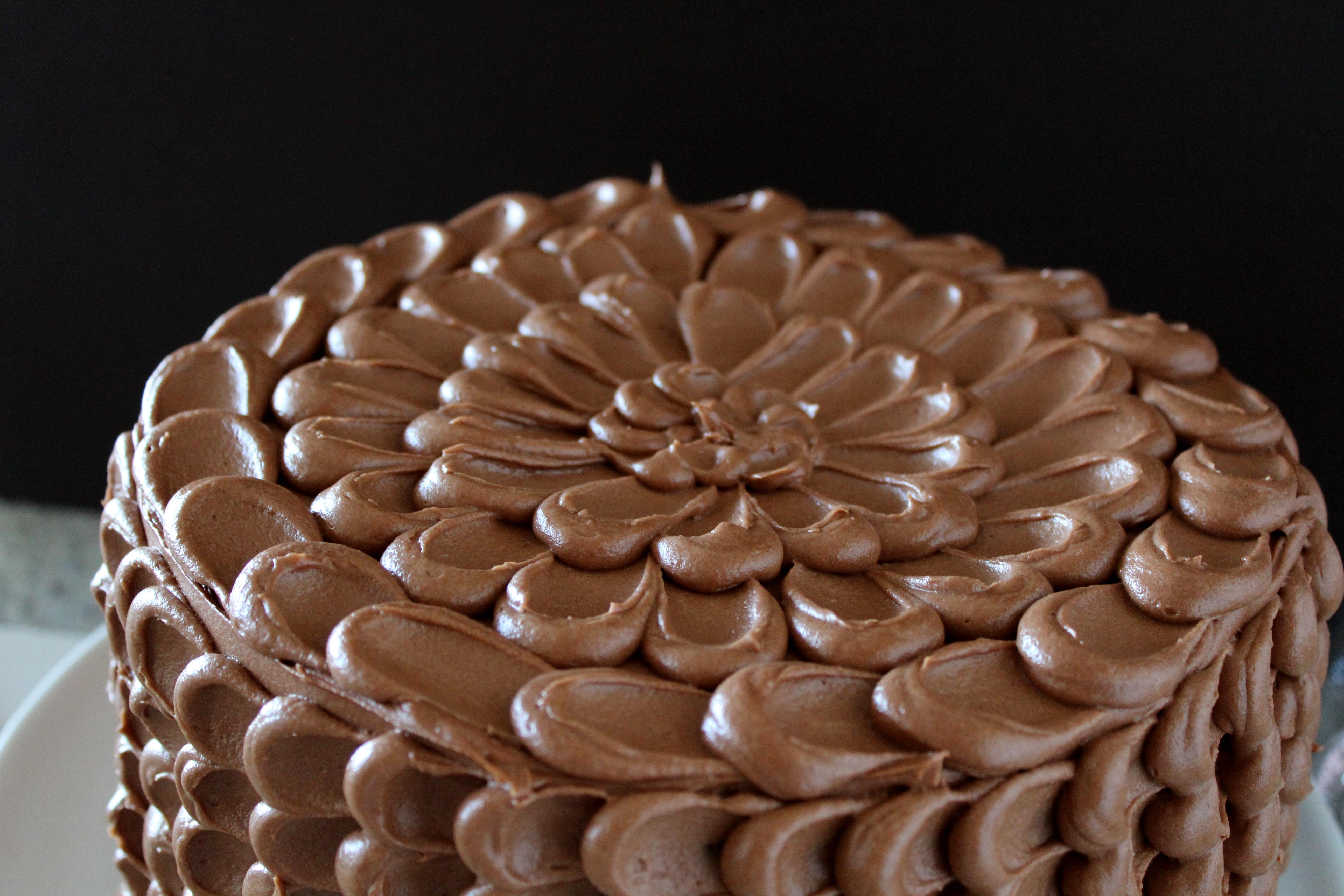 Chocolate Pinata Birthday Cake Filled with Muddy Buddies for My