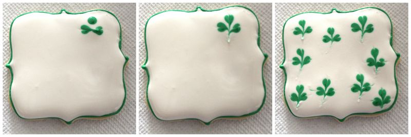 St. Pattys Clover Cookies | The Crafting Foodie