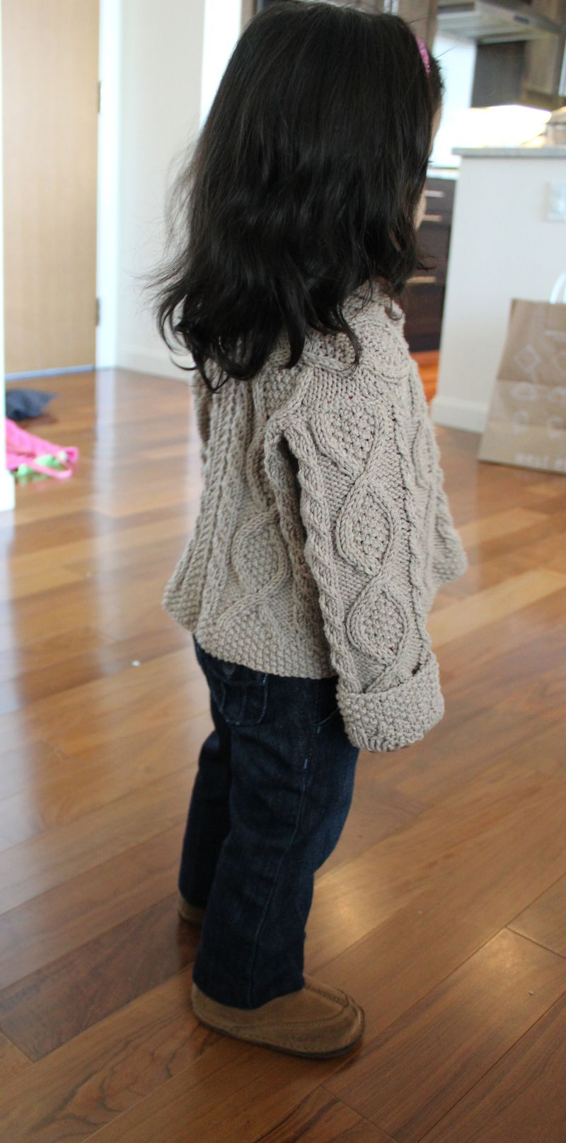 Shawl Cardigan | The Crafting Foodie