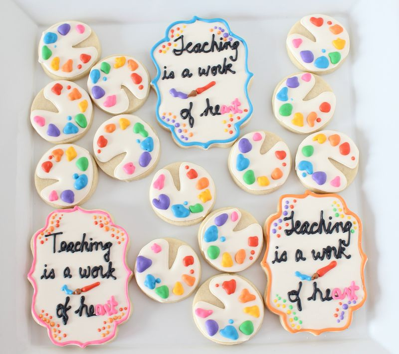 Cookies for Teachers | The Crafting Foodie