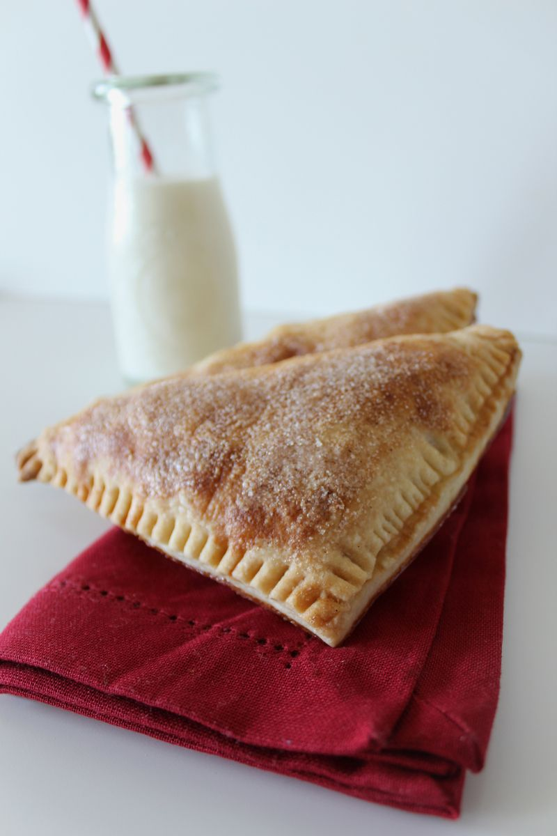 Flaky Apple Turnovers Made with Homemade Puff Pasrty | The Crafting Foodie