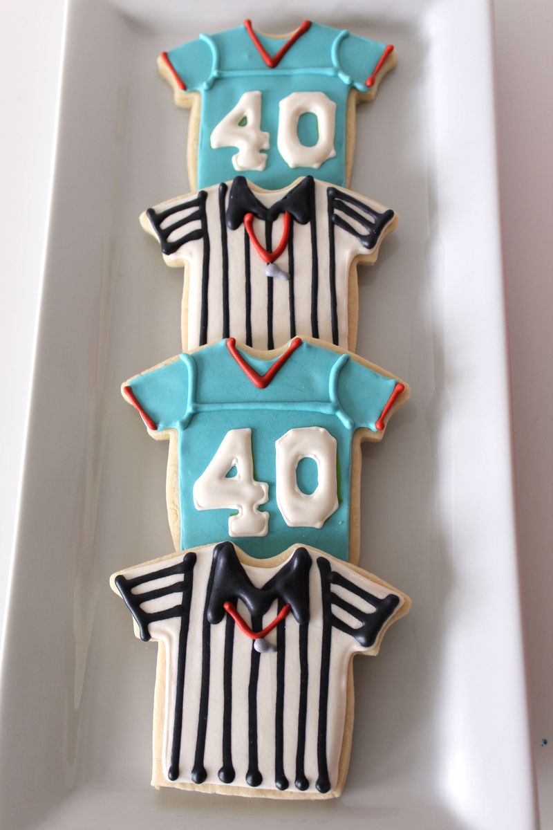 Football Cookies | The Crafting Foodie