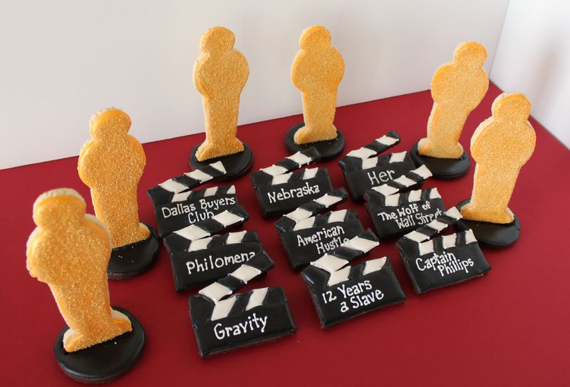 Academy Awards Cookies | The Crafting Foodie