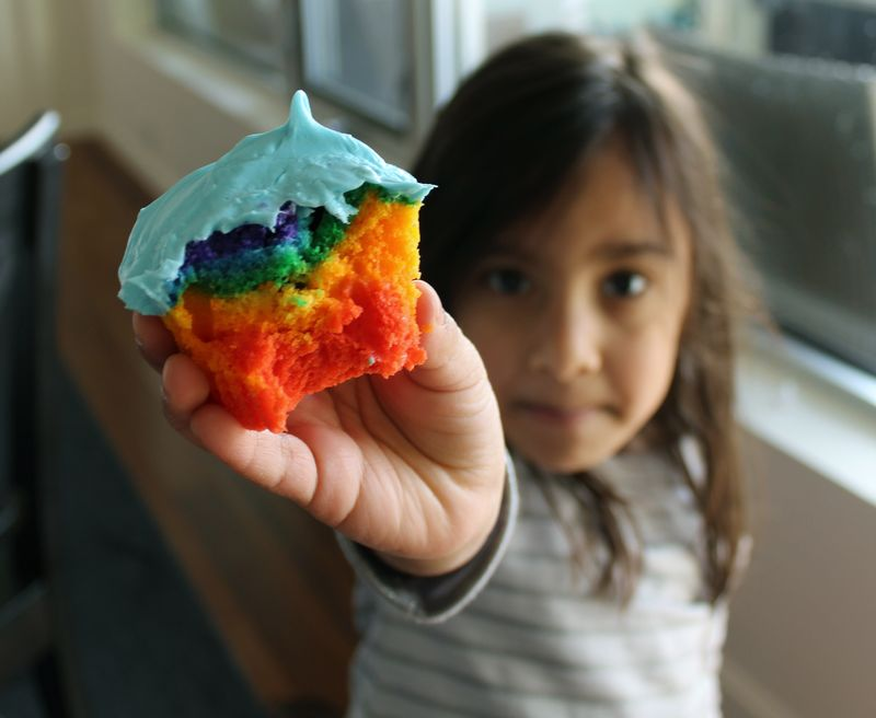 Pot of Gold and Rainbow Cupcakes | The Crafting Foodie